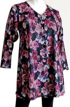 Sixteen47: Lawn floral knit  Cardigan  #plussize #plus-size #fashion #plus #size #dawnfrench #plussizefashion #plussizestyle #curvyfashion #curvy #fashionforwardplus #plussizefashion #plussizeblogger #psstyle #psfashion #fullfigured