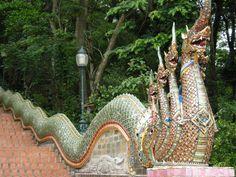 chiang mai thailand   Description Naga From Wat Phrathat Doi Suthep Chiang Mai Thailand.jpg