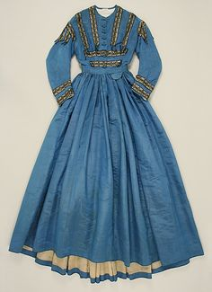 Dress Date: ca. 1864 Culture: probably French Medium: silk Accession Number: C.I.40.183.2
