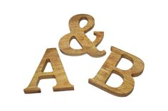 These beautiful letters including ampersand and numbers are made using sustainably sourced Rubber Wood (Pictured). The letters and numbers are made using Cambria font in capitals however they are customisable to any font of your choice or even in lowercase.  Each letter or number is created using only the best sustainable and ethically sourced wood and finished with a durable natural finish.