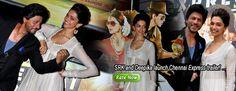 SRK and Deepika launch Chennai Express trailer!
