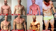 From Pot Belly to Ripped Abs in 7 Weeks: This Father of 5 Shows You How It's Done