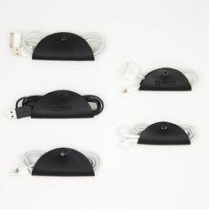 Keep your earphones and USB wires untangled with these taco-shaped cord organizers.