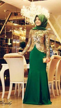 Hijab dress soiree حجاب فستان سهرة