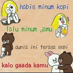 Permalink to Pantun Cinta Lucu Romantis dan Gokil Quotes Lucu, Jokes Quotes, Me Quotes, Funny Quotes, Memes, Cartoon Jokes, Quotes Indonesia, Funny Stickers, People Quotes