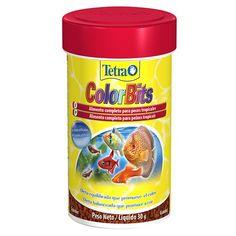 Ração Tetra para Peixes Tropicais Coloridos Colorbits Granules - Meuamigopet.com.br #peixe #fish #sea #mar #ocean #oceano #meamigopet