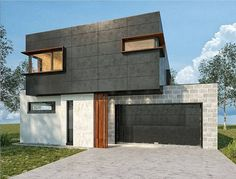 """""""Love this design of a new build by - dying to see how the Scyon Matrix turns out! Interior Cladding, Exterior Wall Cladding, Australian Architecture, Architecture Design, 3d Design, House Design, Design Ideas, Outside Sheds, Black Cladding"""