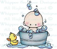 Squeaky Clean - Children - Rubber Stamps - Shop