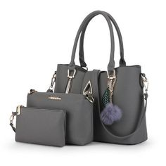 Women's Bag 3 / Set Clutch Purse And Handbag