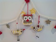 Project Gallery for Birdie Decoration pattern by Lucy of Attic24