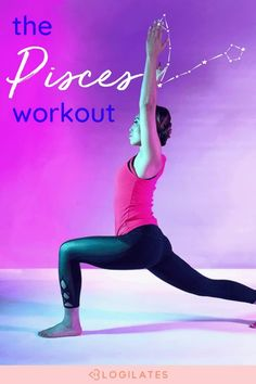 Try out this pilates workout and lower body workout for the Pisces season to fit true pisces aesthetic! Pisces zodiac sign, pisces facts, pisces jokes, pisces traits, pisces quotes, monthly workout 30 day workout challenge, blogilates.