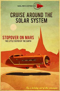 Visit Mars by Aste17.deviantart.com on @DeviantArt