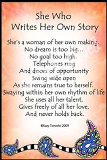She Who Writes Her Own Story..