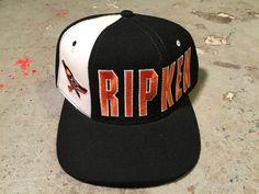 3b548fd1682 Items similar to Baltimore Orioles Cal Ripken Vtg 90 s starter snapback Hat  NWO hat new 90s vtg NFL Hat Tisa don c supreme starter logo dad adjustable  hat ...