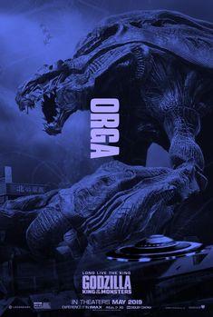Orga King Kong, Kaiju Size Chart, Fantasy Creatures, Mythical Creatures, Godzilla Franchise, All Godzilla Monsters, Godzilla Wallpaper, Strange Beasts, Arte Dc Comics