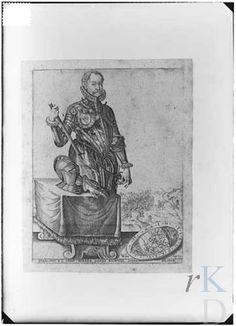 Christoffel van Sichem (I) Portret van Willem I 'de Zwijger' van Oranje- Nassau (1533-1584)  Den Haag, RKD (collectie Iconografisch Bureau)...