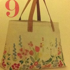 Tote bag embroidery