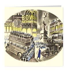 Piccadilly Circus by Eric Ravilious