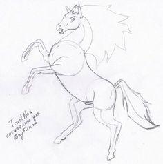 как правильно рисовать лошадь