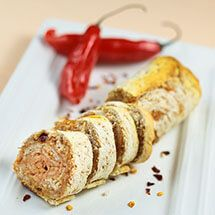 Pão de alho apimentado com páprica por Academia da carne Friboi