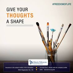 Painting allows for expressing one's mindset into a virtual form. Give the artist in you a channel to express, pick up a paintbrush today! #FreedomOfLife