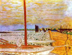 Fine Art Visual Therapy| Serafini Amelia| Pierre Bonnard / The Yellow Boat, c. 1936-1938