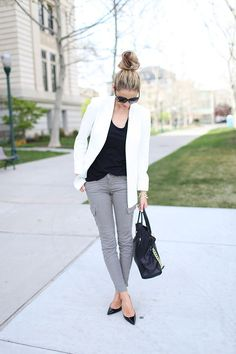 simple gray denims