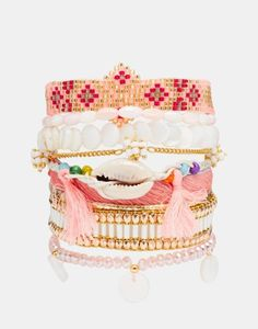 Hipanema Bora Bora Friendship Bracelet. Shop 29 other Coachella-ready jewelry pieces (the festival style is to just pile on the accessories).