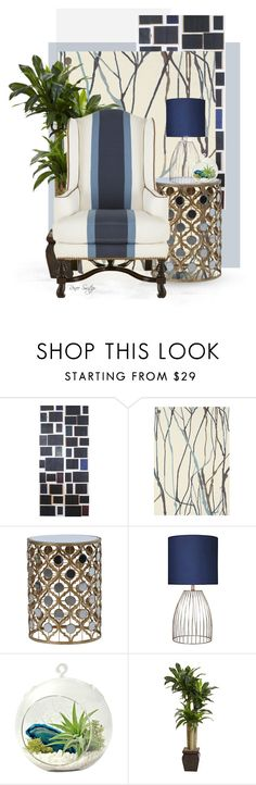 """Comfy Chair"" by renee-switzer ❤ liked on Polyvore featuring interior, interiors, interior design, home, home decor, interior decorating, Eka, Brink & Campman, Jagger and Dot & Bo"