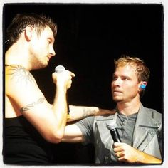 Aww Frick & Frack. Look at the love!  August 2013 IAWLT