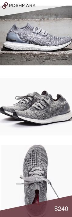 Adidas Uncaged Ultra Boost-- Light Grey Brand new never worn with box. Sold out in size 6.5 women's. adidas Shoes Sneakers