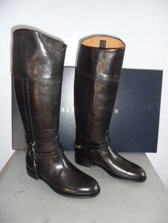 Ralph Lauren Collis Velvet slipper size 9 brown Made in Italy. on ...