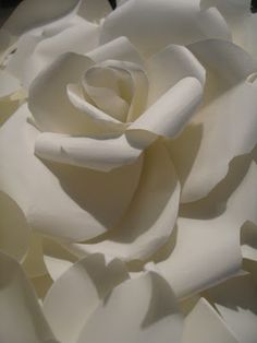 All Things papier: des fleurs en papier