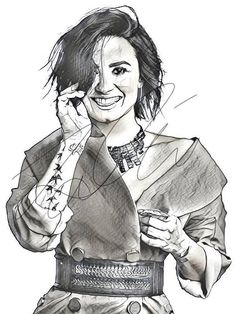 81 Best Demi Lovato Drawings Images Celebrities Demi Lovato Fan Art