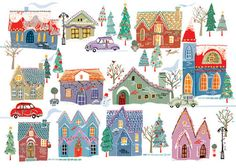Christmas Community - Louise Cunningham