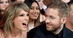 Pin for Later: Quel Couple Avez Vous Préféré en 2015? Taylor Swift et Calvin Harris