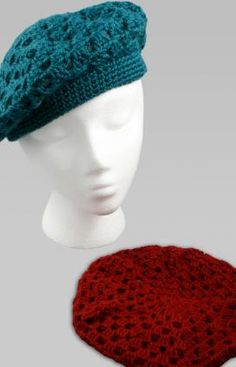 Really cute beret crotchet pattern. Definitely going to try!