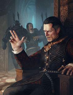 Fantasy Art Witcher Emhyr Var Emreis Nilfgaard Ruler Emperor