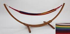 La Serena hammock Multicolour with single wood stand