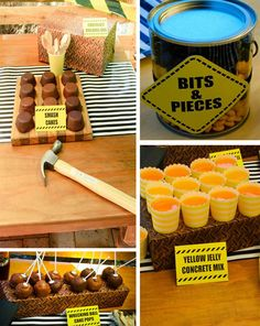 Construction Party With Lots of Fun Ideas via Karas Party Ideas | KarasPartyIdeas.com #construction #party #time #third #birthday #supplies #ideas