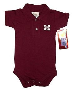 Mississippi State Baby Polo My baby will have this.