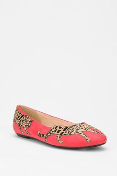 punch up any outfit with these applique flats, $34