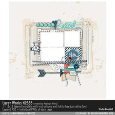 Layer Works No. 885- Studio Double-D Templates- LT613946- DesignerDigitals