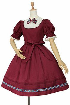 Classical Merry Christmas New Ladies Victorian Maiden Lolita Costume Full Dress