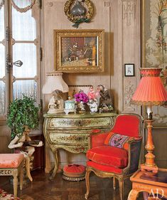 This room..rather kitsch but love it.