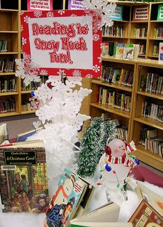 """""""Reading is Snow Much Fun"""""""
