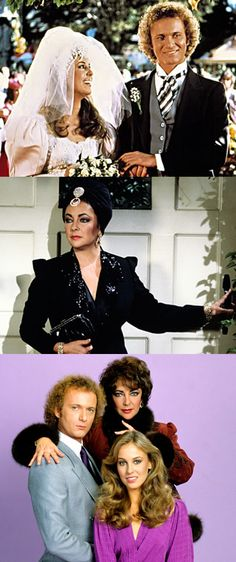 November 17, 1981 — 30 million people tuned in to ABC's afternoon soap opera, General Hospital, to watch Luke Spencer (Anthony Geary) & Laura Webber (Genie Francis) exchange vows and be cursed by Helena Cassadine (Elizabeth Taylor).