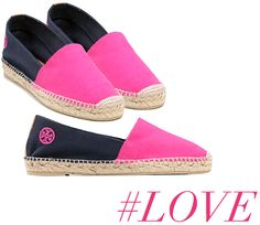 Tory Burch Color-Blocked Espadrilles