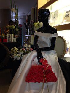 Ramo de novia bolso