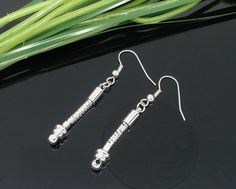 SOLD! 1PA 8 Pr Silver Tone Earring Findings for Euro  Beads. Starting at $5 on Tophatter.com!  http://tophatter.com/auctions/36831?campaign=future&source=internal